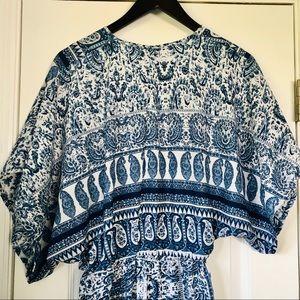 Elan Dresses - Elan Plunging Neckline Flowy Boho Dress